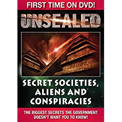 Unsealed Secret Societies, Aliens and Conspiricies