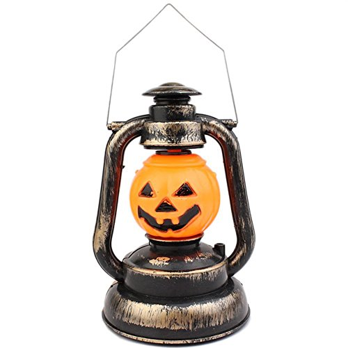 ZOEREA Halloween Lantern Ghost Creepy Sound Lamp Battery Operated Light