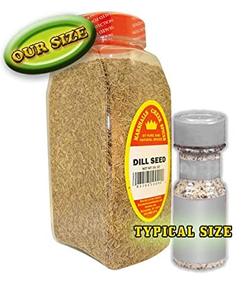 Marshalls Creek Spices Seasoning, Dill Seed, XL Size, 20 Ounce from Marshalls Creek Spices