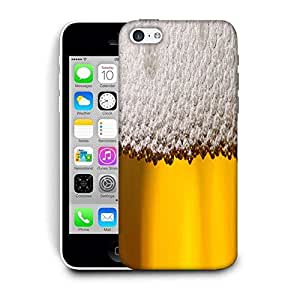 Snoogg Beer Bubbles Designer Protective Back Case Cover For IPHONE 5C