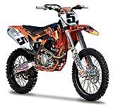 "KTM 450 SX-F #5 Ryan Dungey ""Red Bull"" 1/18 Motorcycle by Bburago 51072"