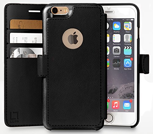 iPhone-6-PLUS6s-PLUS-Wallet-Case-Durable-and-Slim-Lightweight-with-Classic-Design-Ultra-Strong-Magnetic-Closure-Faux-Leather-Rose-Gold-Apple-66s-PLUS-55-in