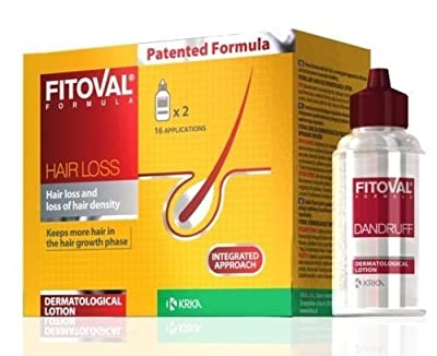 Fitoval Hair Loss Treatment Alopecia Lotion 2 x 40 ml