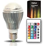 The Original Kuler Bulb™ - 10-Watt Color Changing LED Light Bulb with Remote Control - Powered by 3 Vibrant LED's and 10 Watts of Power, its the Brightest Multi Color LED Bulb and Mood Light.