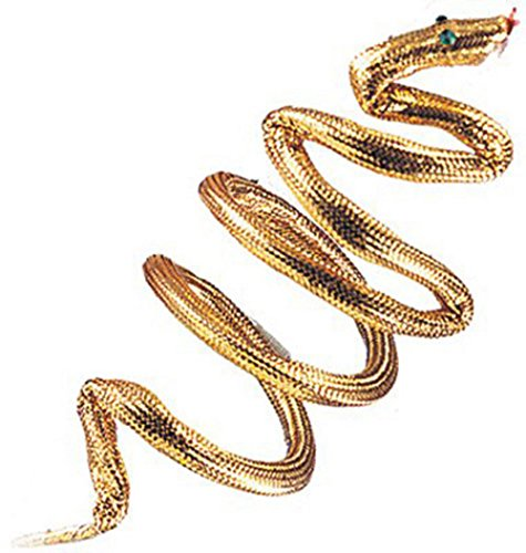 Gold Snake Cleopatra Armband, Bracelet or Headband Adult Child Egyptian Costume