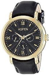 Aspen Analog (BLACK) Dial Mens Watch - AM0074