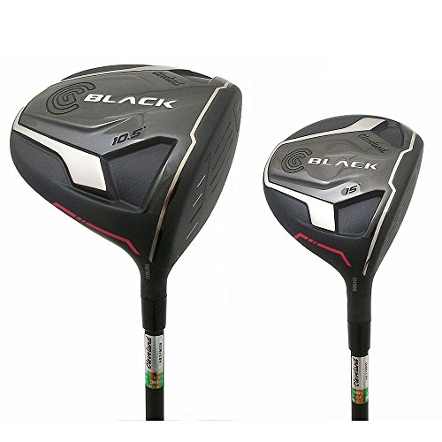 NEW Lady Cleveland CG Black 2015 Driver and 3 Wood Set Bassara Womens