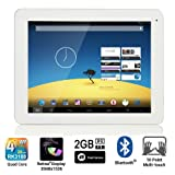 ZTO Tablet PC - Multi-Touch Screen, Android 4.2 Jelly Bean Bluetooth, 1.8GHz quad-core Rockchip RK3188, 2GB RAM, 2048*1536, 4:3 high pixel density 320 dpi, HDMI, Wifi