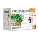 Mindware Q-BA-MAZE 2.0 Spin Stunt Set, Multi Color