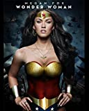Megan Fox as Wonder Woman Poster Photo 8 inch x 10 inch PHOTOGRAPH