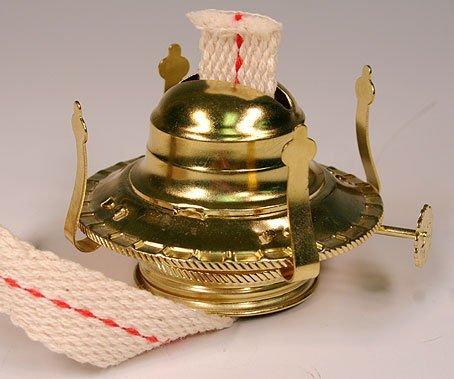 OIL LAMP BURNER / CHIMNEY HOLDERS Lamplight Farms Style (M999) LOT OF 5 NEW! (Wicks For Kerosene Lanterns compare prices)