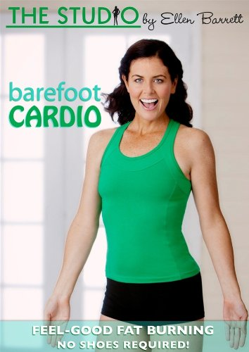 The Studio By Ellen Barrett Barefoot Cardio DVD - region 0 Worldwide