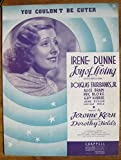 img - for You Couldn't Be Cuter (Irene Dunne Cover) (Sheet Music) book / textbook / text book