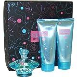 Curious By Britney Spears For Women Set (Eau De Parfum Spray 3.3 Ounce Souffle 6.7 Ounce Shower Gel 6.7 Ounce)...