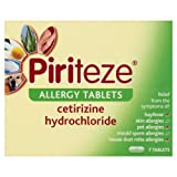 Piriteze Allergy Tablets One a Day x 7