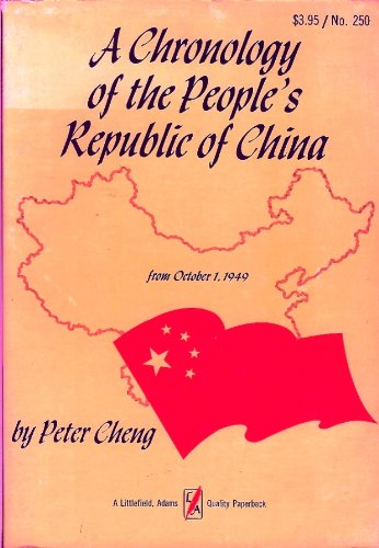 Chronology of the People's Republic of China: From October 1, 1949