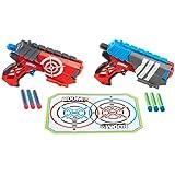 BOOMco - Dual Defenders, arma de juguete (Mattel BGY63)