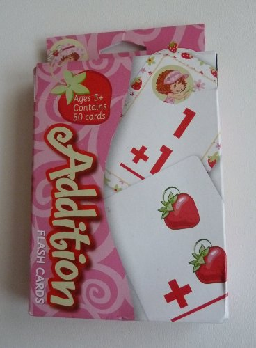 Strawberry Shortcake Addition Flash Cards - 1