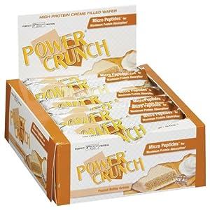 Bionutritional Power Crunch Bars Peanut Butter Creme, 12 Bars