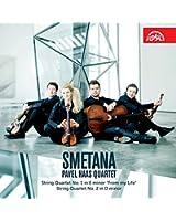 Smetana : Quatuors à cordes n° 1 et n° 2