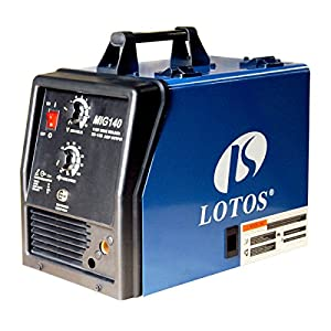 LOTOS MIG140 140Amp MIG Welder - Additional Flux Cored and Aluminum Gas Shielded Welding Functions from Lotos Technology