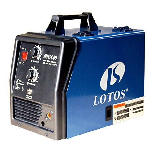 LOTOS MIG140 140Amp MIG Welder – Additional Flux Cored and Aluminum Gas Shielded Welding Functions