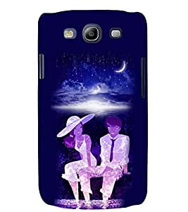 PRINTSWAG MOON LIGHT COUPLE Designer Back Cover Case for SAMSUNG GALAXAY S3