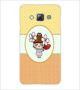 PrintDhaba Cartoon D-4467 Back Case Cover for SAMSUNG GALAXY A3 (Multi-Coloured)