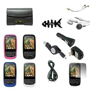 Crazyondigital 14 Items Accessory Bundle Kit for Verizon Palm Pixi and Palm Pixi Plus Smartphone