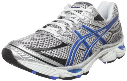 ASICS ASICS Men's GEL-Cumulus 13 Running Shoe,White/Royal/Black,8 M US