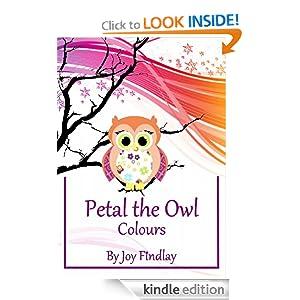 Children's Book - Petal the Owl Colours