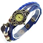 SINCEDA Women's Watch Blue Maple Leaf...