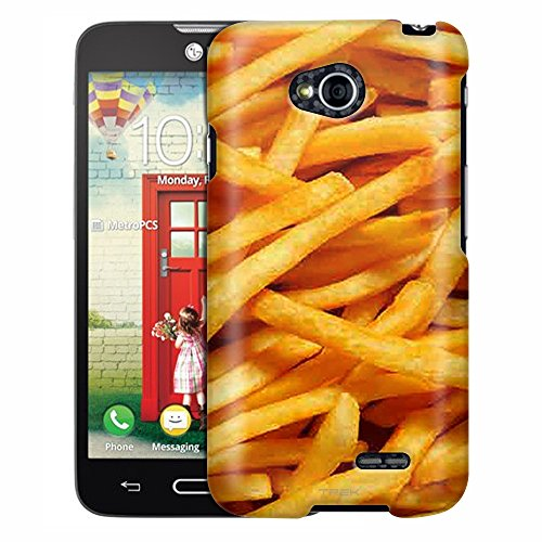 LG Optimus L70 Case, Slim Fit Snap On Cover by Trek French Fries Case (Lg Optimus L70 Case French Fries compare prices)