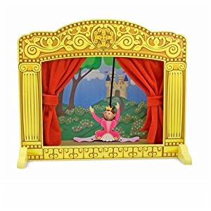 Melissa Doug Deluxe Puppet Theater dp BNVBFQ