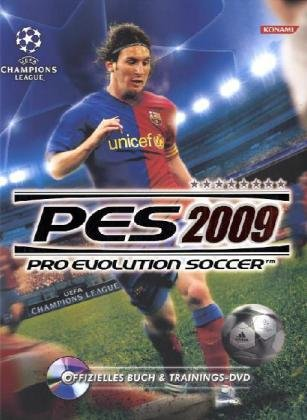 PES 2009 - Pro Evolution Soccer (L&#246;sungsbuch + Trainings-DVD)