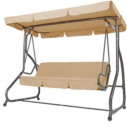 Miadomodo-Hollywoodschaukel-Gartenschaukel-Schaukel-Gartenmbel-3-Sitzer-mit-Bettfunktion-inkl-Sitzauflage-in-der-Farbe-Ihrer-Wahl