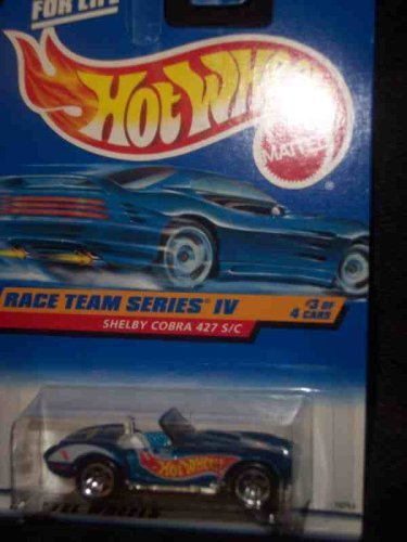 Race Team Series 4 #3 Shelby Cobra 427 S/C #727 Mint