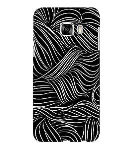 EPICCASE Abstact Pattern Mobile Back Case Cover For Samsung C5 (Designer Case)