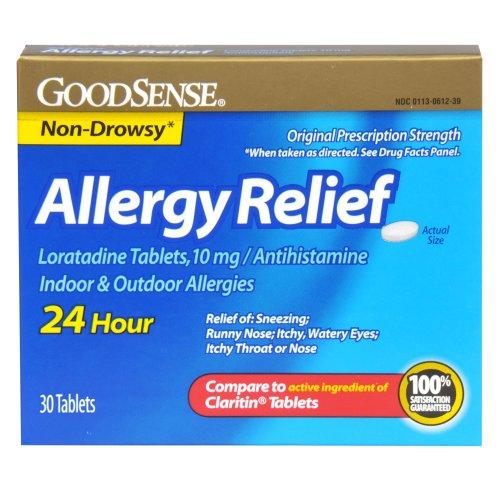 Good Sense Allergy Relief Loratadine Tablets,