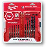 Milwaukee 48-89-4445 10-Piece Shockwave Impact Drill Bit Set