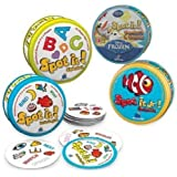 Spot It! Disney Frozen Educational Game 4 Variety Pack Set Includes: Spot It! Disney Frozen Olaf In Summer, Numbers...
