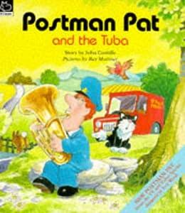 postman pat and the tuba postman pat story books amazon