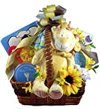 The Lion and The Lamb - A Baby Gift Basket