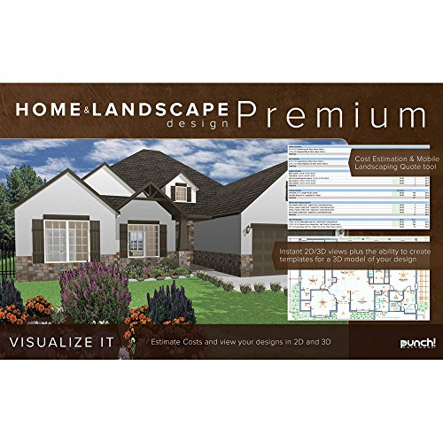 Punch home landscape design premium v18 for windows pc for Landscape design computer programs