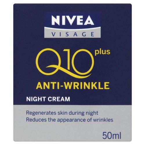 NIVEA Visage Anti-Wrinkle Q10Plus Night Cream 50ml