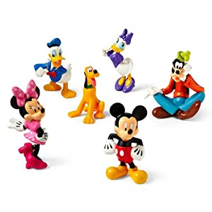Amazon.com: Disney Mickey Mouse Clubhouse Figure Play Set ...