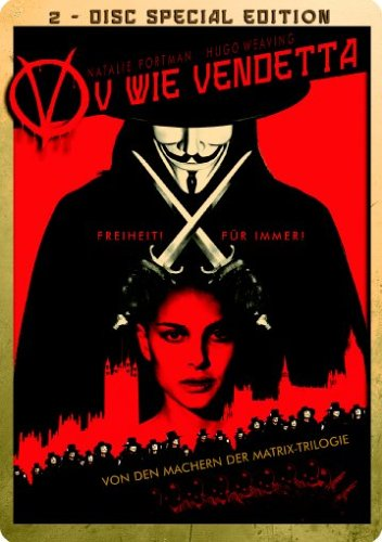 V wie Vendetta (2 DVDs, Limited Edition, Steelbook) [Special Edition]