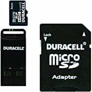 Dane-Elec DU-3IN1-04G-C Duracell Micro SD Memory Card With SD And USB Adapter