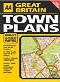 AA Great Britain Town Plans (Road Atlas)