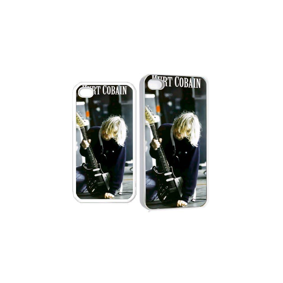 kurt cobain nirvana p iPhone Hard 4s Case White